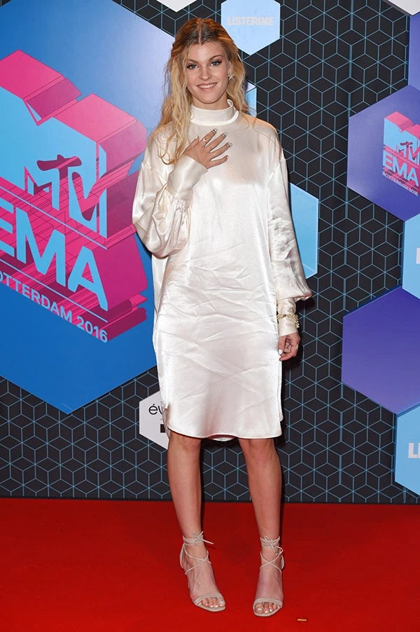 Emma Bale attends the MTV Europe Music Awards