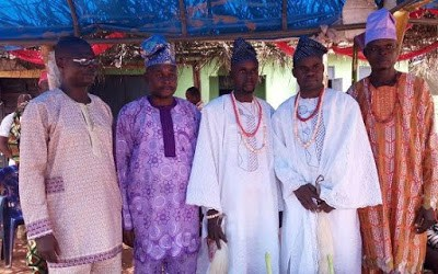 Naaked ladies pictured at a 'Manhood' celebration ceremony in Edo State