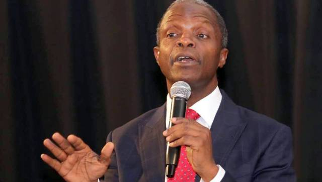 Quit notice: VP Osinbajo vows to deal decisively with troublemakers