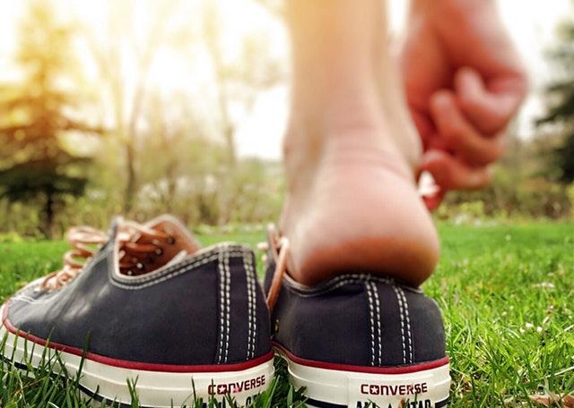 靴擦れ大急処置