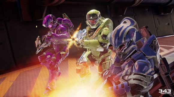 Halo 5 Guardians Warzone Firefight Squad