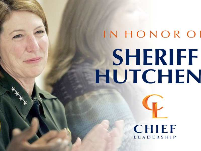 In Honor Of Sheriff Hutchens