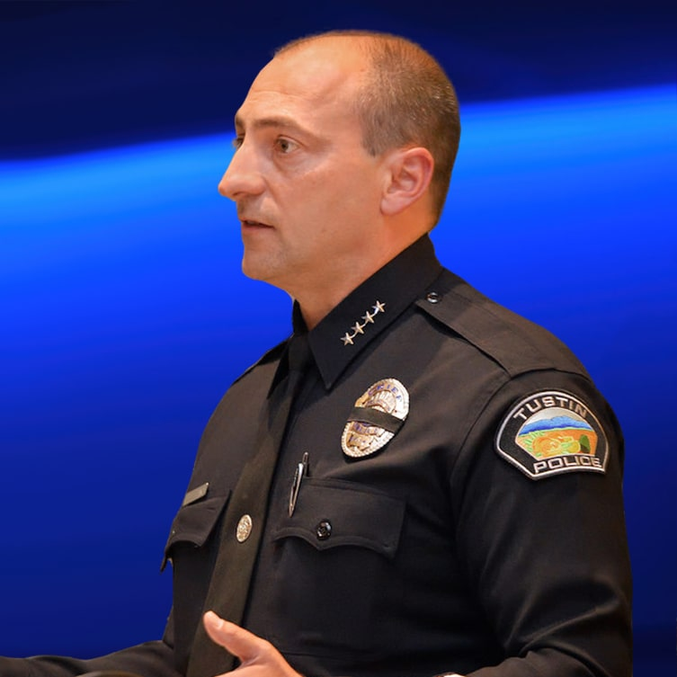Charles Celano Retired Tustin Police Chief
