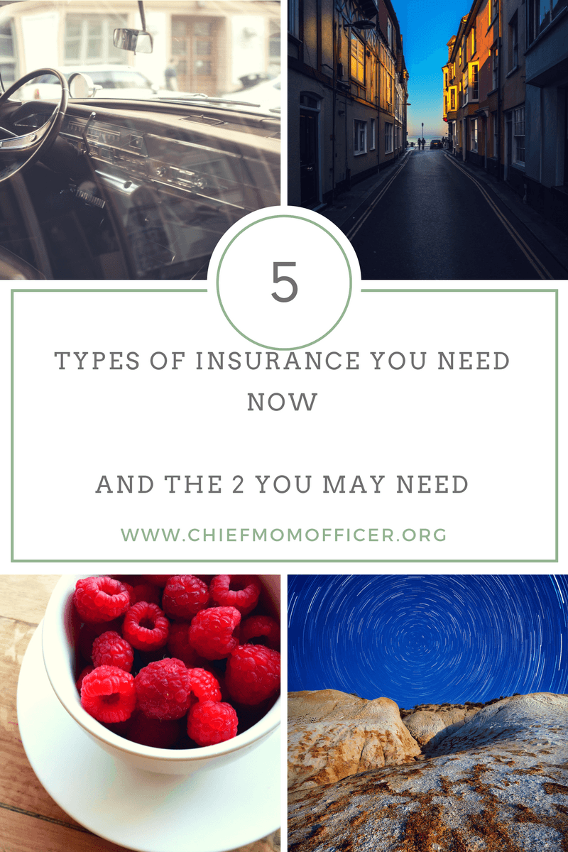 The five types of insurance you need now - and the two you might