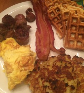 Finished breakfast