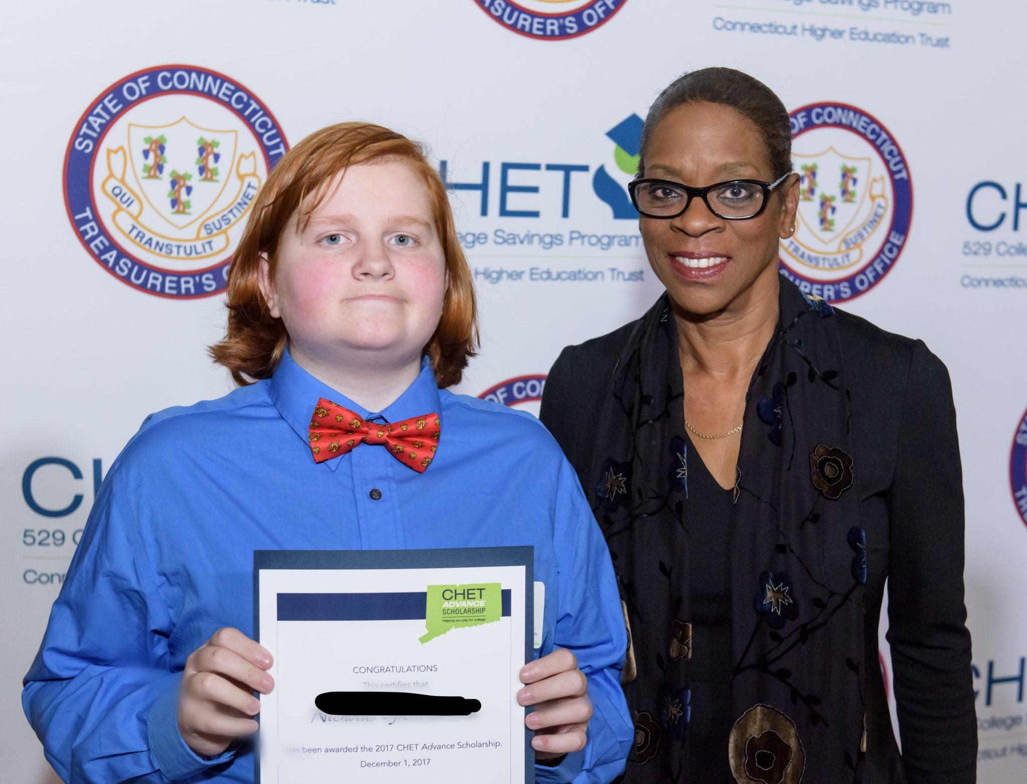 CHET Advance Scholarship Winner