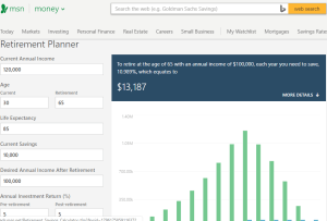 the best retirement calculator review i review 26 in one day