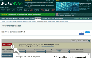 MarketWatch Retirement Calculator Review
