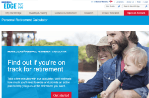 Merril Edge Retirement Calculator Review