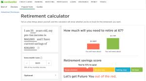 Nerdwallet Retirement Calculator Review