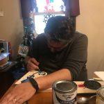 Todd Painting Nintendo Christmas World