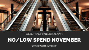 No Low Spend November