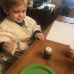 Painting Hand Turkeys