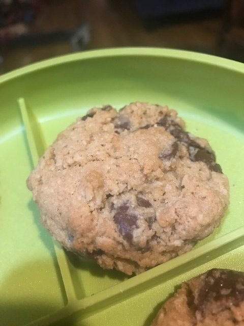 White Whole Wheat Oatmeal Chocolate Chip Cookies