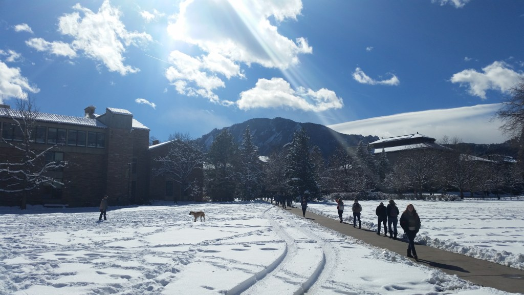 Boulder CO View