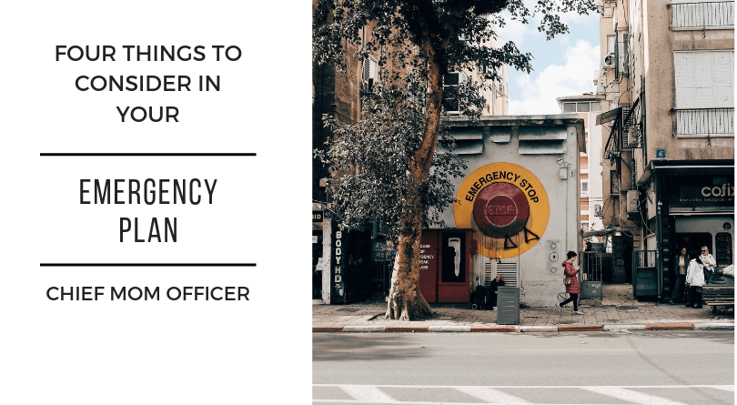 Emergency Planning – Four Things To Consider