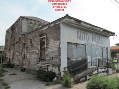 Wendell Pierce's Blighted Property