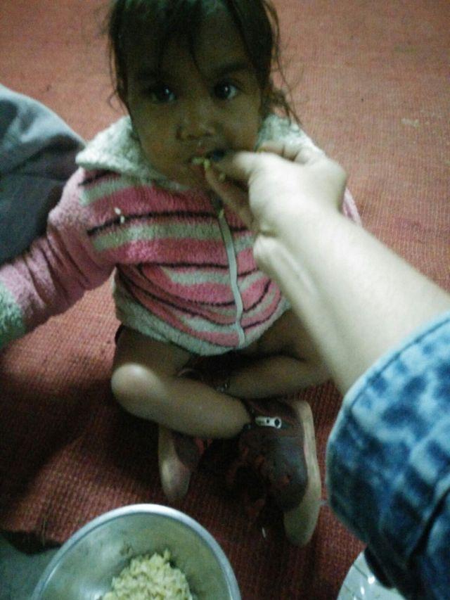 Feeding Homeless Kid