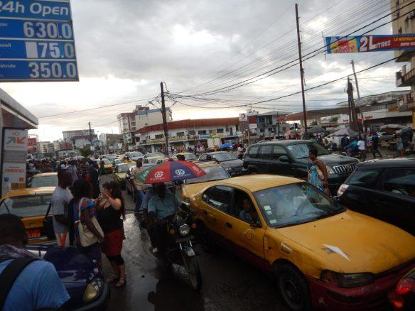 Douala traffic jam