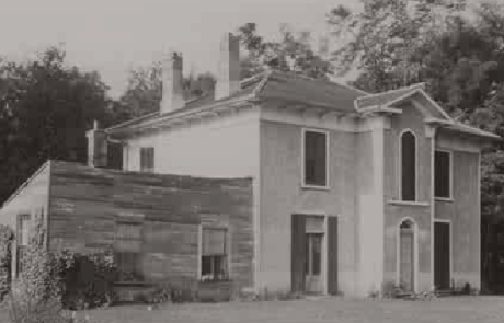 Black and White Photo - Birthplace of E. Pauline Johnson - Chiefswood National Historic Site