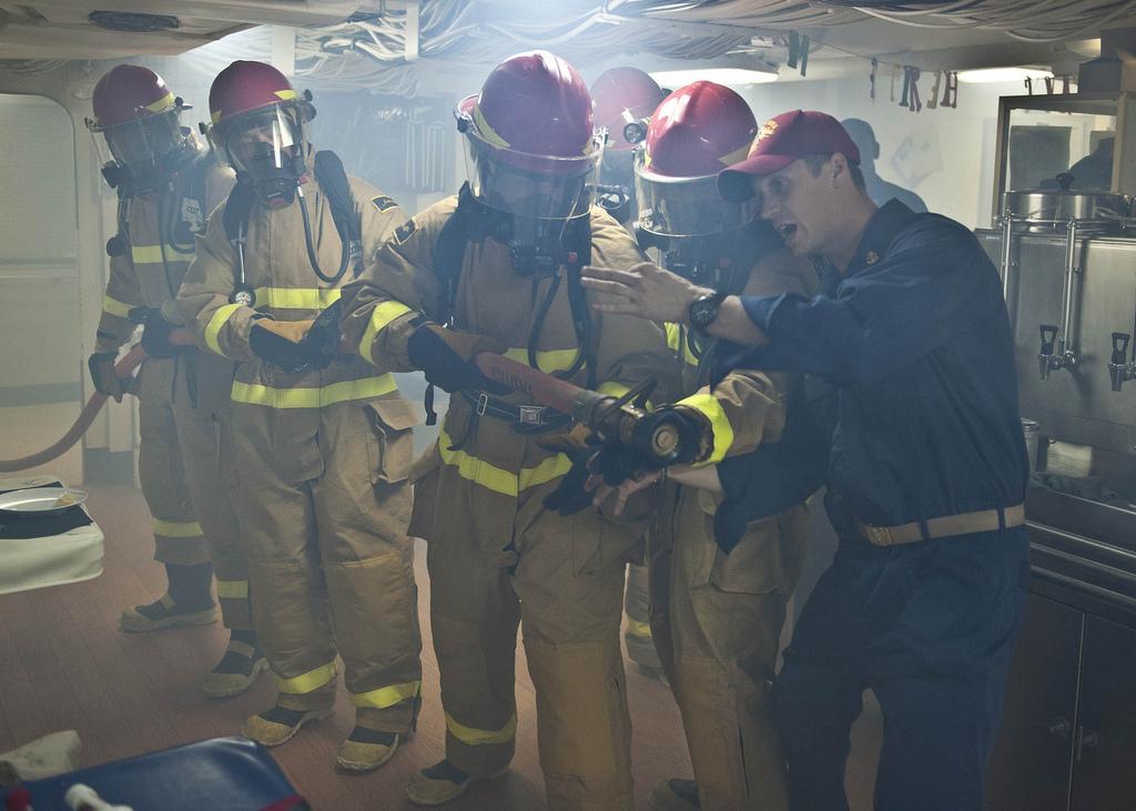 Fire-drill-in-a-ship