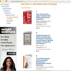 The Commmonsense Virtual Assistant is #3 on Amazon