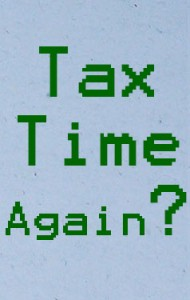 tax time again