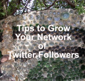 Tips to grow your network of twitter followers