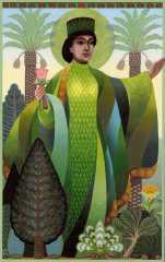Ameretat, goddess of plant life