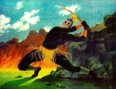 Ogun, owner of metals and minerals