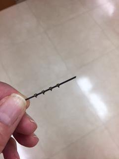 まき爪ワイヤ