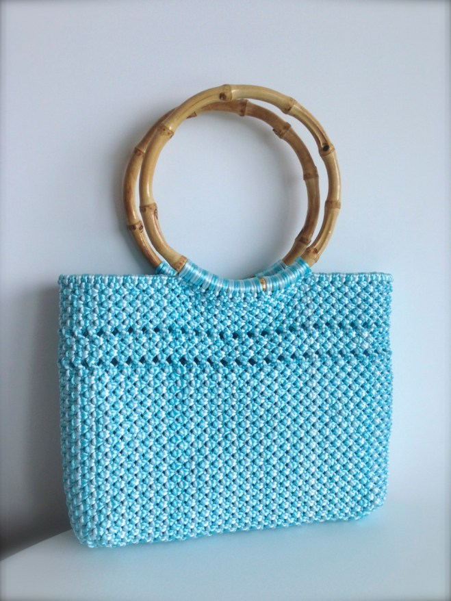 Chinese knotted summer bag
