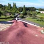 岐阜にある養老天命地という名のアート公園。ただし意味不明。