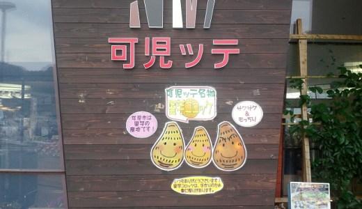 道の駅可児ッテでサトイモコロッケ