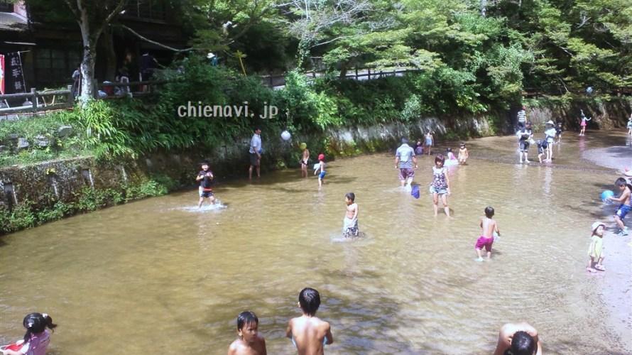 瀬戸市の川遊びスポット、岩屋堂公園に行ってきました