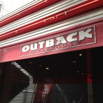 outoback(アウトバック)ステーキハウスに行ってきた。