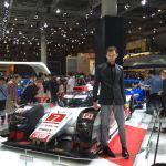 東京モーターショー2015 Audiブースのモデルがかっこいい!