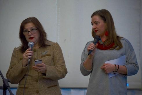 Liliana de Olarte de Torres-Muga – Ambassador of Peru in Czech Republic and Lucie Moskalenková – member of the Klub Chovatelu Nahacu. Photo by Alessandro Pucci