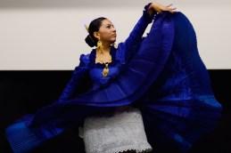 Lucie Ramirez - dancer of Marinera. Photo by Mauricio Alvarez.