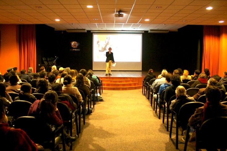 Presentación ICPNAC, Cusco: Pedro Santiago Allemant – Director del filme