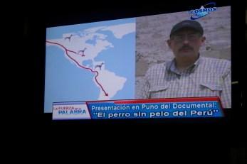 """Cosmos TV - Interview de Jaime Ardiles : filme """"El Perro sin Pelo del Perú"""""""
