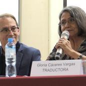 Gloria Cáceres Vargas - Escritora, profesora y traductora de quechua