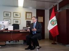 Entrevista al Embajador de Perú ante la UNESCO, Manuel Rodríguez Cuadros: Mensaje en defensa del Perro sin Pelo del Perú. Foto por Mauricio Álvarez - appp©todos los derechos reservados para todos los países