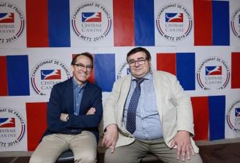 Pedro Santiago Allemant (réalisateur du film) et André Varlet (Directeur des Relations Institutionnelles – SCC). Photo by Mauricio Alvarez