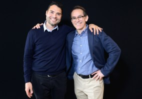 Mauricio Alvarez (photographe) et Pedro Santiago Allemant (réalisateur du film)