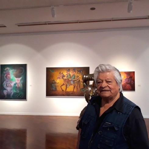 Exposición Allinta Yachay de Alberto Quintanilla - Alberto Quintanilla (personaje del filme El Perro sin Pelo del Perú)