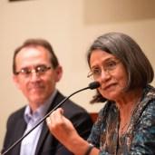 Gloria Cáceres (Profesora, escritora y traductora de quechua) - Photo by Jose Luis Ortiz