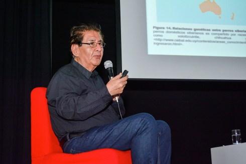 Blgo. Víctor Félix Vásquez Sánchez (participante central del documental – Director de Arqueobios) – Photo by Mercy Castro Haro.
