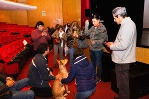 """""""El Perro sin pelo del Perú con pelo"""": Presentación en la Biblioteca Nacional del Perú. Photo by Jose Luis Ortíz Tello / appp – adpp©2019."""