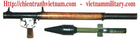 Súng chống tăng B40 trong chiến tranh Việt Nam - Anti tank RPG-2 in Viet Nam war